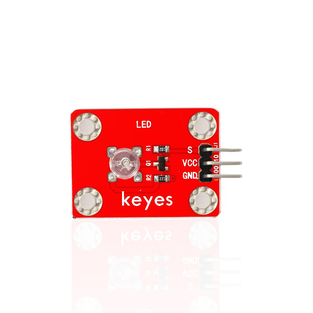 KE0001 keyes 草帽LED白发红