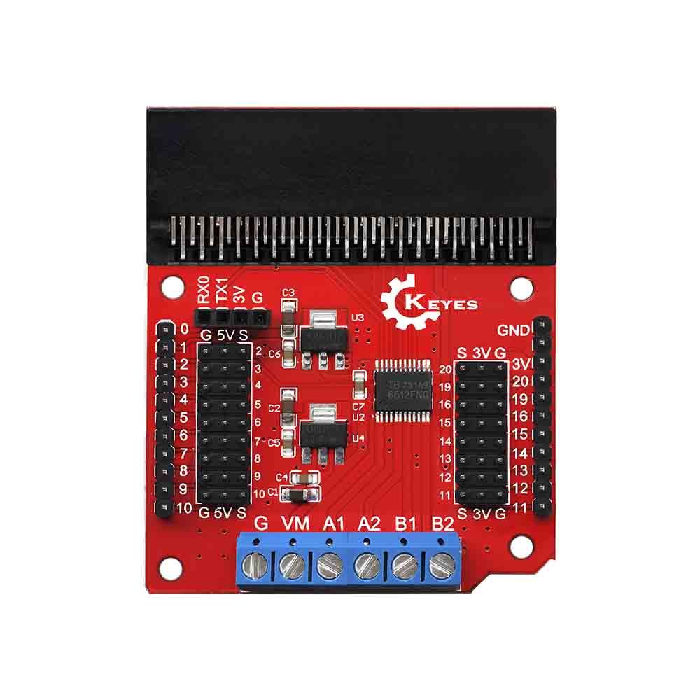 KE0136 keyes micro bit 电机驱动扩展板
